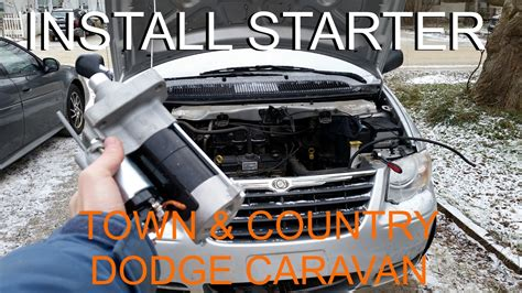 Chrysler Location by Replace Starter Chrysler Town Country Dodge Caravan