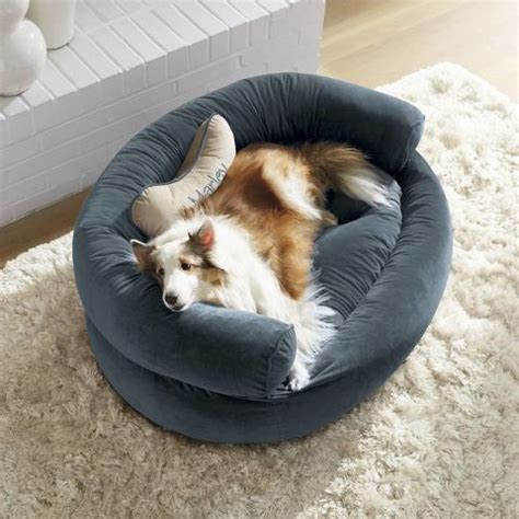 comfy pet bed frontgate 11 best pet beds for dogs and cats chic and comfy pet