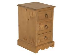 Bedside Drawers Westmorland Small 3 Drawer Bedside Lpc Furniture