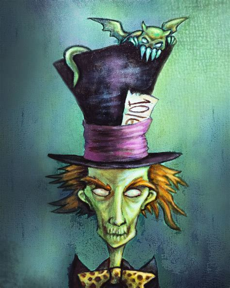 gothic mad hatter from alice in wonderland by