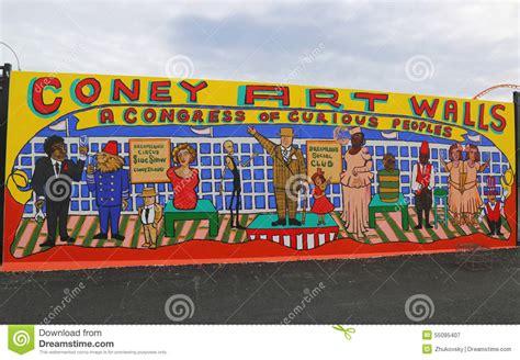 Baseball Murals For Walls mural art at new street art attraction coney art walls at