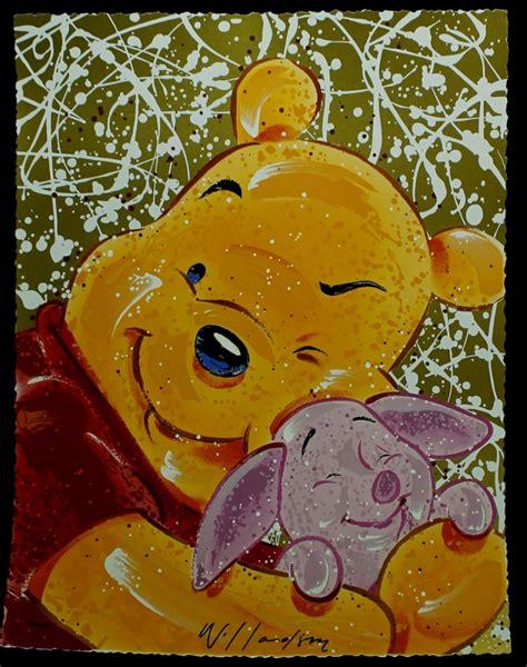 winnie the pooh painting sports memorabilia auction pristine auction