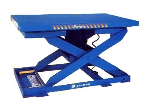 bishamon ez up pneumatic lift table capacity 1500 lbs ezu 15