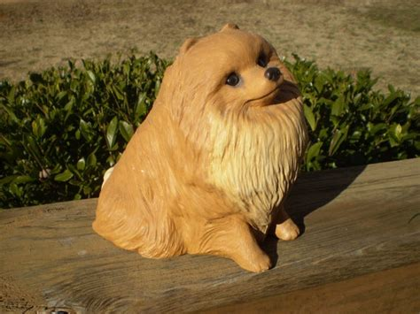 pomeranian statues pin by herron click on my of dogs