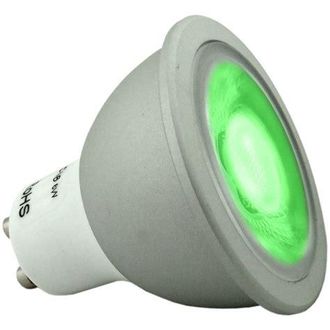 green led light bulbs 6 super bright dimmable green coloured gu10 led light