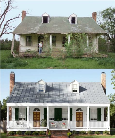 Image Gallery Old Farm Houses Restored Farmhouse Remodel Plans