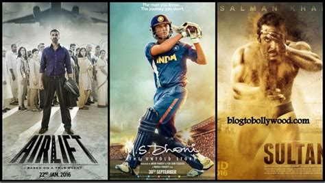 bollywood movies box office list 2016 top grossers of bollywood 2016 10 highest grossing
