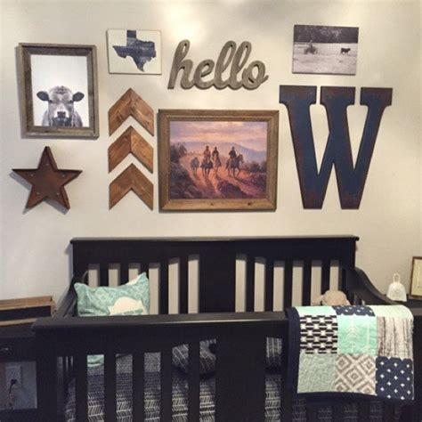 Vintage Cowboy Crib Bedding 25 Best Ideas About Nursery Gallery Walls On Pinterest Gallery Wall Blue Rooms And