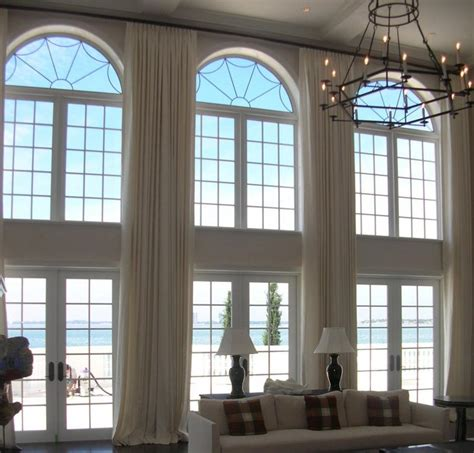 Curtains For Floor To Ceiling Windows Decor 20 Sumptuous Living Room Designs With Arched Windows Rilane