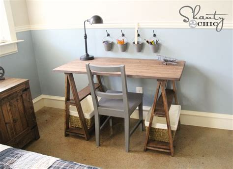Diy Desk Build Inspired By I Want To Make This Diy Furniture Plan From White