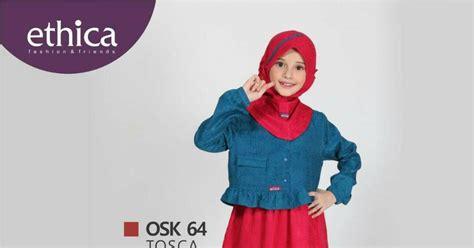 Baju Gamis Anak Ethica Osk 70 Coklat koleksi gamis anak terbaru ethica osk 64