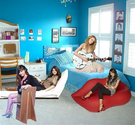demi lovato bedroom star room selena gomez photo 12943657 fanpop