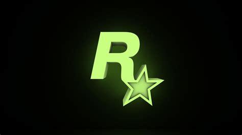 rockstar games glow logos  england wallpaper