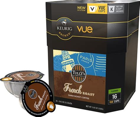 Tully S Gift Card Balance - keurig vue tully s french roast coffee v cup 16 pack 9312 016 best buy