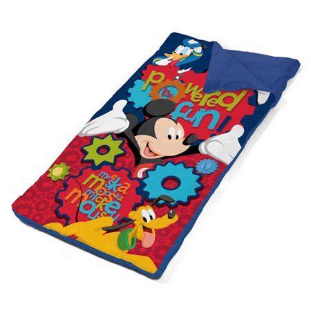 Disney Mickey Mouse Toddler Nap Mat - disney mickey mouse sling bag slumber set best toddler