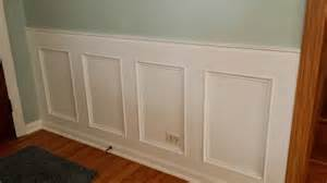 easy wainscoting ideas how to make a recessed wainscoting wall from scratch