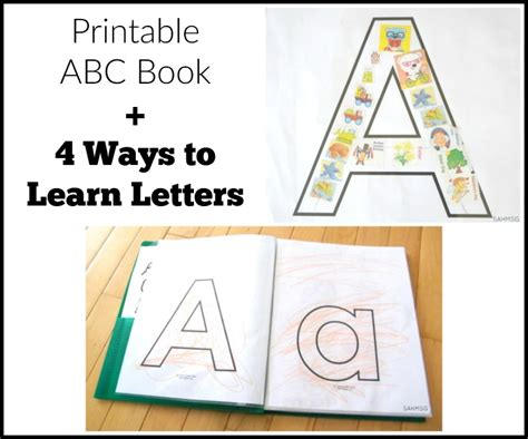 my letters this book is a great way for children ages 5 and up to learn the letters of the alphabet and practice motor skills in a way books printable abc book preschool learning activities the