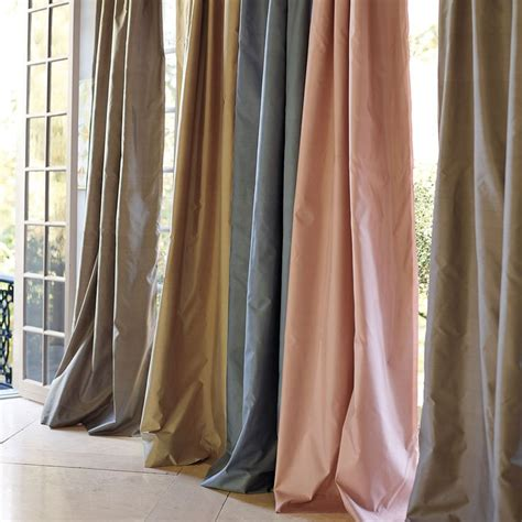 shantung silk curtains rylie s room in blush blush silk shantung window panel