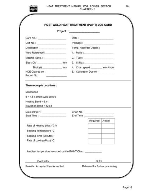 wps card template 236135365 heat treatment manual