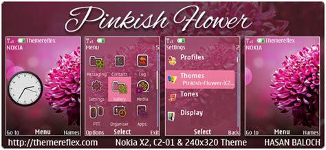 nokia x2 rose themes pinkish flower theme for nokia x2 00 c2 01 x3 00 x2 05