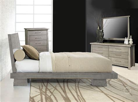 platform bedroom hiro driftwood platform bed haiku designs