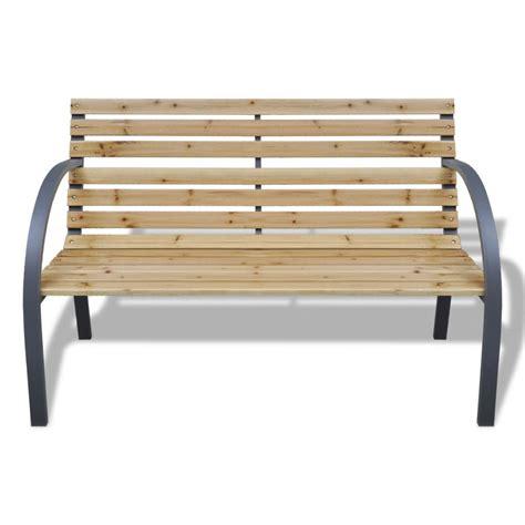 panchina ferro articoli per vidaxl panchina da giardino con doghe legno e