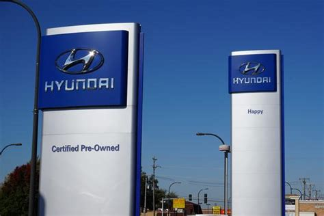 Happy Hyundai Oak Lawn Il by Oak Lawn Happy Hyundai New Hyundai Dealership In Oak