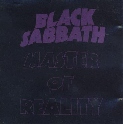 Black Master Hardrock rock heavy metal black sabbath master of reality