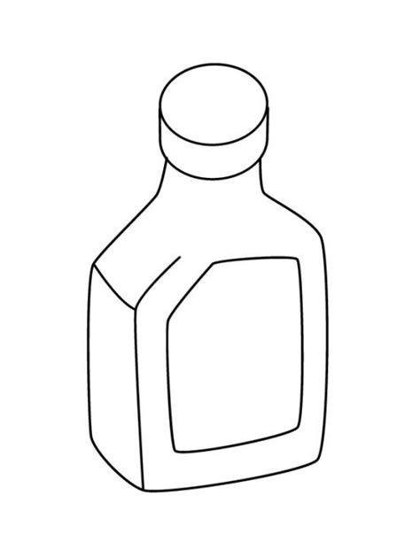imagenes para pintar frascos de vidrio frasco medicinal dibujo de un jarabe para pintar y