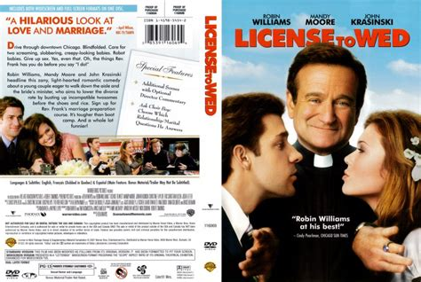 License Wed 2007 Film License To Wed Movie Dvd Scanned Covers License To Wed