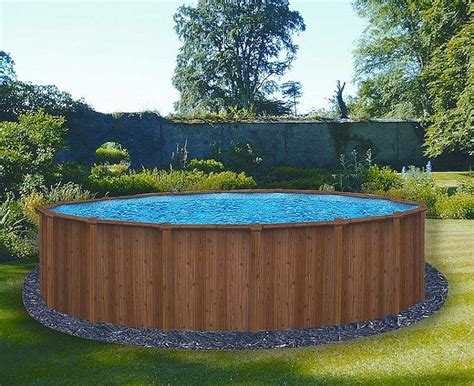 backyards with above ground pools small round above ground pool ideas for house backyard