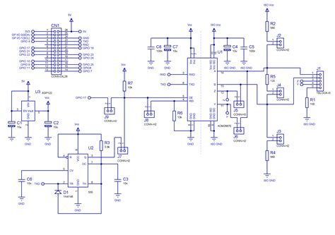rs232 to rs485 converter circuit diagram isolated rs232 to rs485 converter schematic isolated