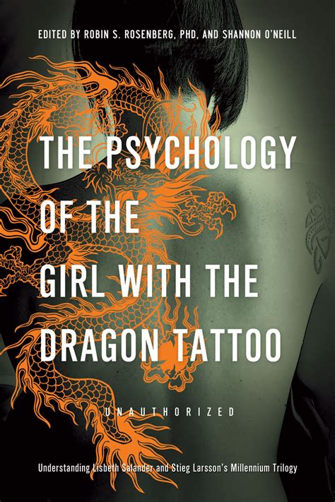 author of the girl with the dragon tattoo the psychology of the with the