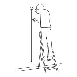 How To Use A Plumb Line When Wallpapering by Setting Out Wallpaper And Planning 2