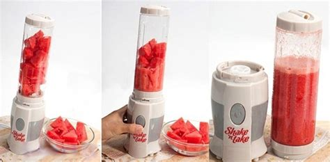 Blender Shake N Take shake n take mini juice blender with 2 travel bottles