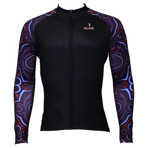 cheap patterned jersey black mens mountain bike cycling jersey shirt clothes long