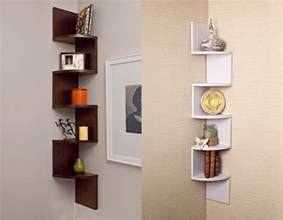 wall shelving ideas glass wood and shelves