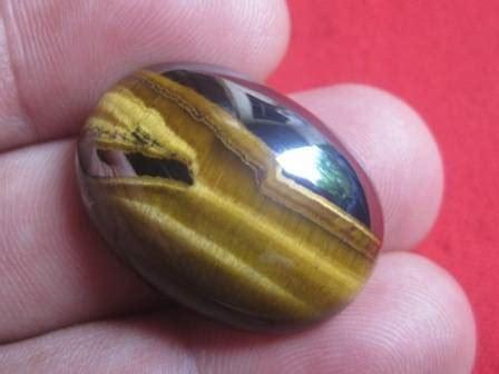 Batu Akik Pamor Mata Merah Unik batu cincin tiger eye asli akik pilihan terbaik