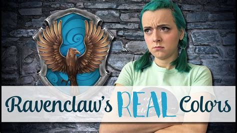 ravenclaw house colors ravenclaw s real colors