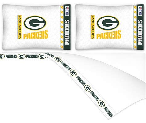 green bay packers bed set nfl green bay packers football queen bed sheet set