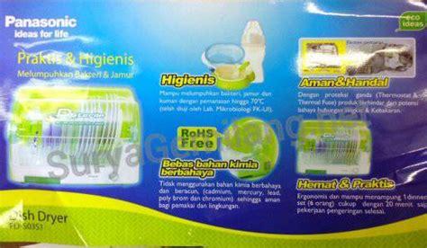 Panasonic Dish Dryer Dsterile Fds03s1 Fd S03s1 Garansi Resmi Terlari jual dish dryer panasonic fd s03s1 asli dan baru surya gemilang toko