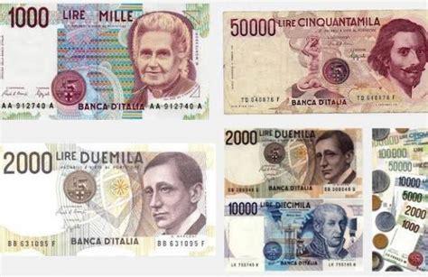 cambio lira d italia aduc cambio delle vecchie lire in la domanda alla