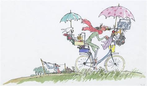 libro mrs armitage on wheels an in bike music system from mrs armitage on wheels by quentin blake sir quentin blake
