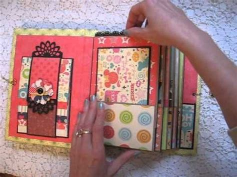 How To Make A Paper Bag Scrapbook - best 25 paper bag album ideas on paper bag