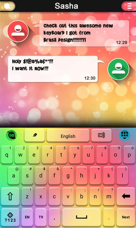 love keyboard themes amazon com rainbow love keyboard theme appstore for android