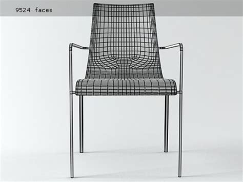 zoe armchair zoe armchair 3d model ligne roset
