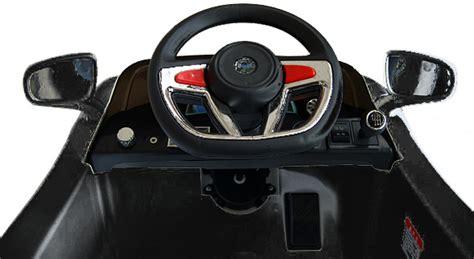 Schnellstes Auto La Noire by Roadster Avec 2x Moteurs Mp3 Led 233 Lectrique Kinderauto