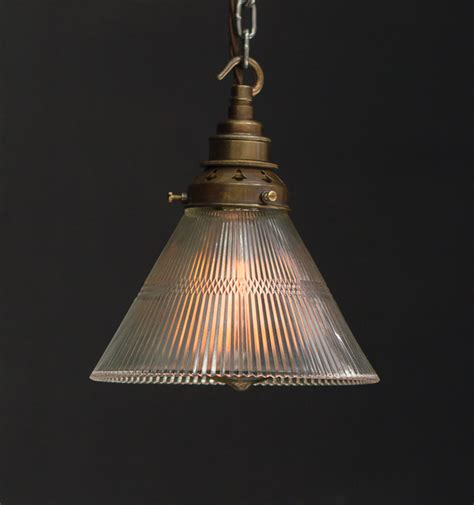 Industrial Pendant Light Shade Es Glass Cone Shade Industrial Pendant Vintage Lighting