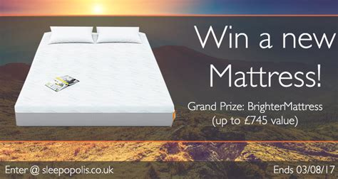 Mattress Giveaway - blog sleepopolis uk