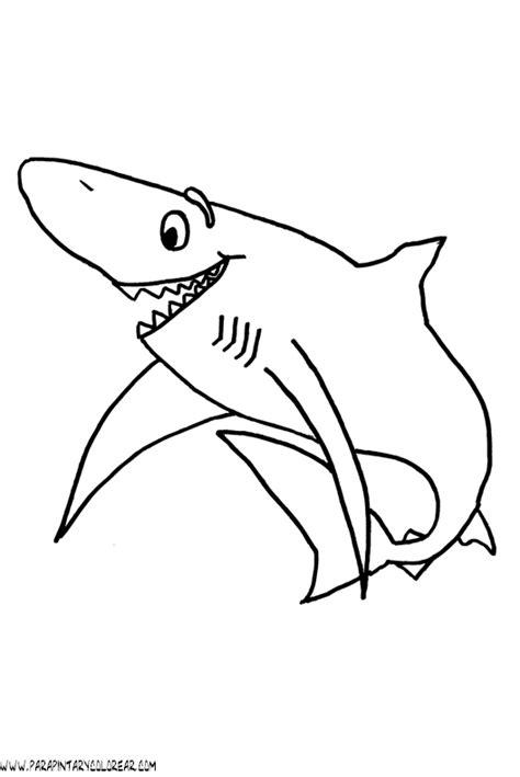 imagenes para colorear tiburon free coloring pages of de tiburones